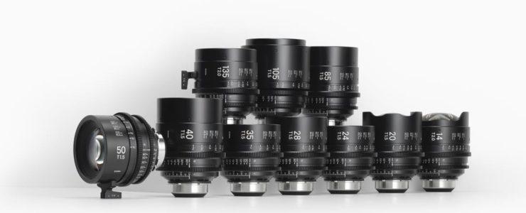 Art Prime Cine Lenses
