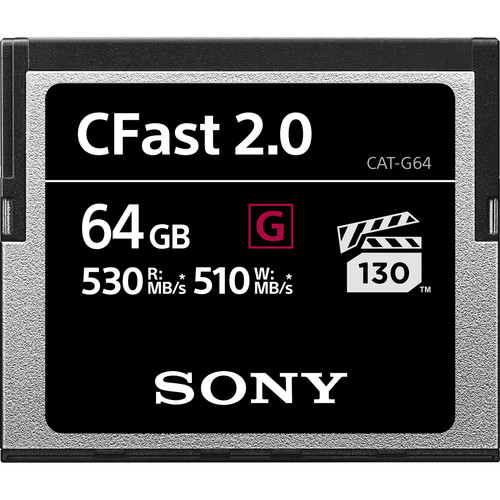 Memory Card Deal: Save Big On Sony CFast 2.0 G Series Cards