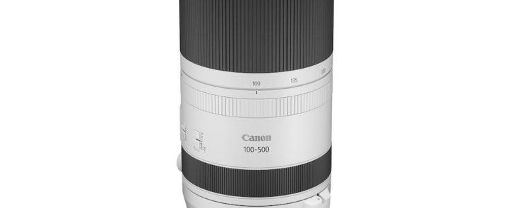 Canon Lenses Rf RF 100-500mm F/4.5-7.1L IS