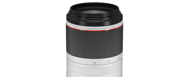 Canon Lenses Rf RF 100-500mm F/4.5-7.1L IS