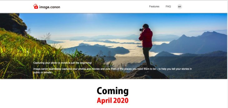 Canon Launches New Image.canon Cloud Platform To Connect Cameras With PCs, Phones, Web