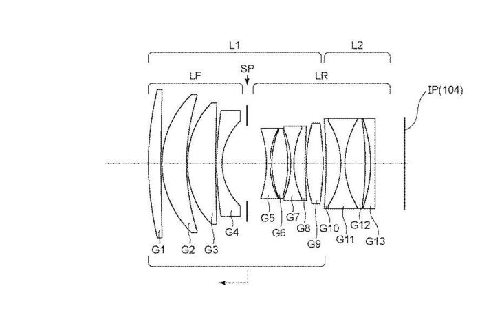 Canon Patent: RF 85mm F/1.2 (without BR Elements) And RF 50mm F/1.2