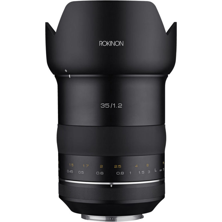 Rokinon SP 35mm F/1.2 Review