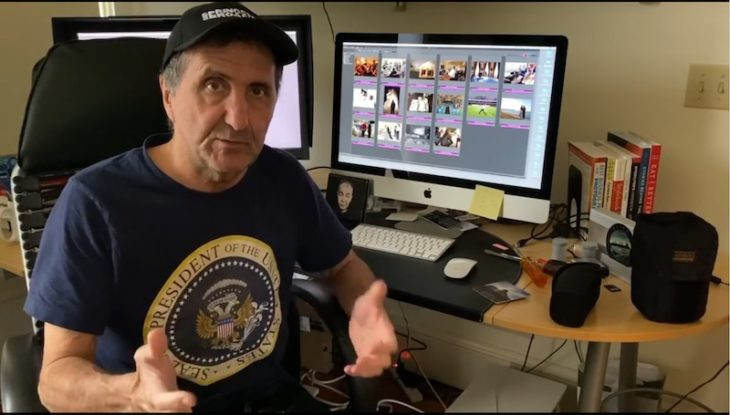 Former White House (and Canon) Photographer Pete Souza Tells What's In His Bag