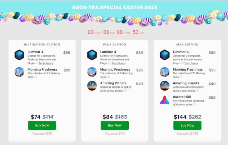Save Big And More On Skylum Luminar 4 Easter Deals With Our Code