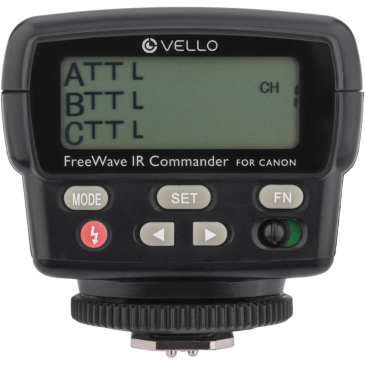 Deal: Vello FreeWave IR TTL Flash Commander (Canon) – $49.95 (reg. $109.95, Today Only)