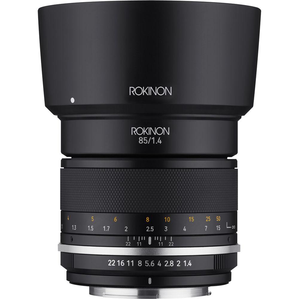 Rokinon 85mm F/1.4 Series II