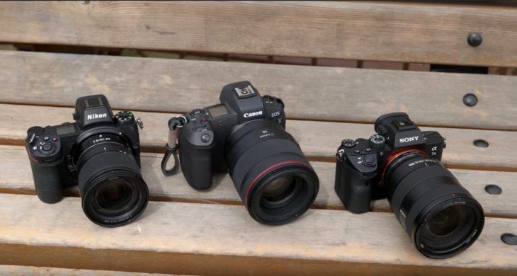 Sony A7 III Vs Canon EOS R Vs Nikon Z6 Head-To-Head Comparison