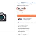 Canon EOS R5 Price Around $6000? Leaked Retailer Information Suggests