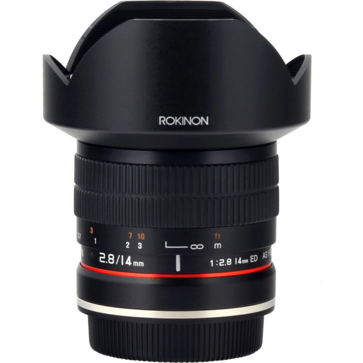 Rokinon 14mm F/2.8 Deal (with AE Chip) – $329 (reg. $499, Today Only)