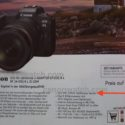 What The Hell? Brochure Says Canon EOS R5 With 26MP? (we Think It's A Typo)