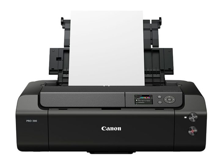 This Is The Canon ImagePROGRAF Pro-300 Printer