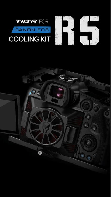 Someone Already Announced A Cooling Unit For The Canon EOS R5