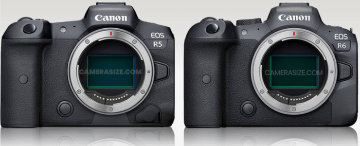 Eos R5 Vs Eos R6 Comparison