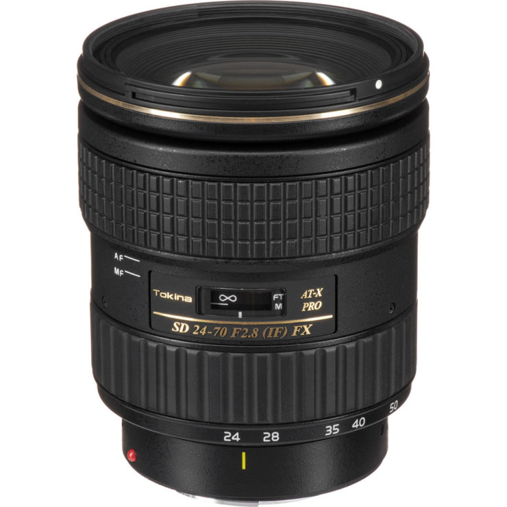 Only For Today (8/26/20) B&H Photo Has A Very Good Deal On The Tokina AT-X 24-70mm F/2.8 PRO FX