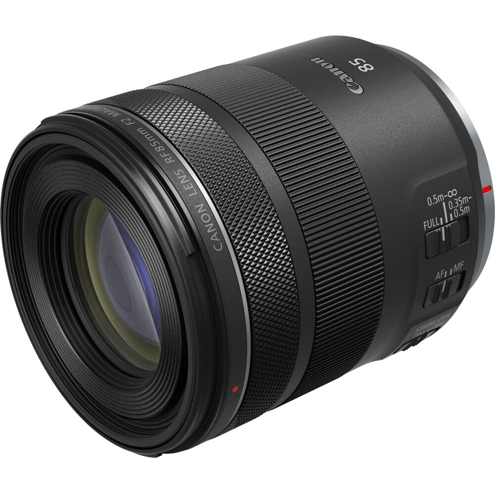 The Canon RF 85mm F/2 Macro IS STM
