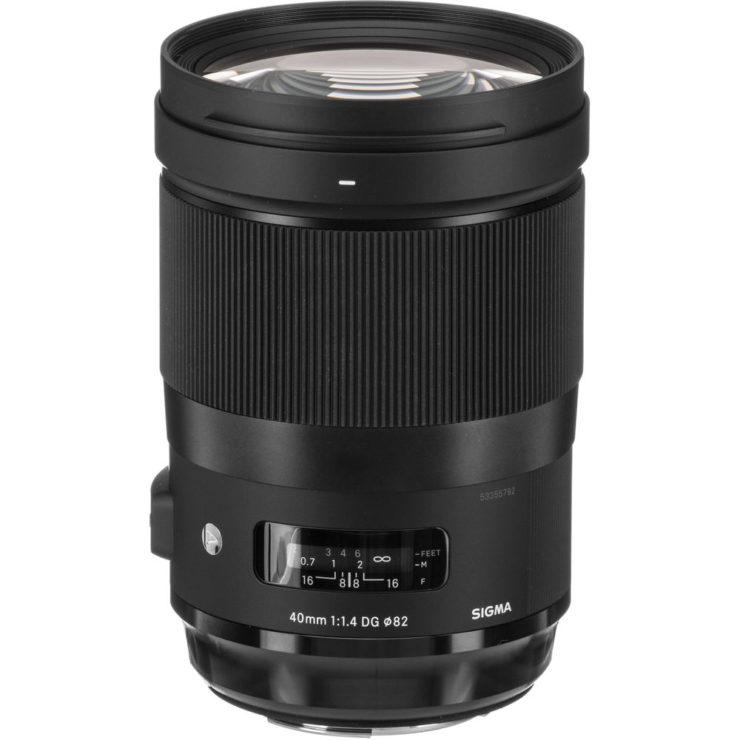Sigma 40mm F/1.4