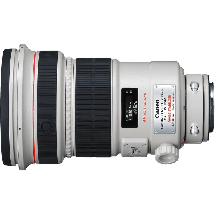 EF 200mm F/2L IS Review