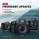 Canon Firmware Updates: EOS R5, EOS R6, EOS-1D X Mark III