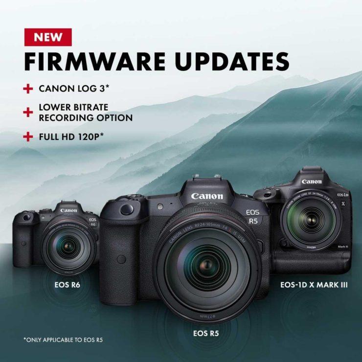 Canon Firmware Updates
