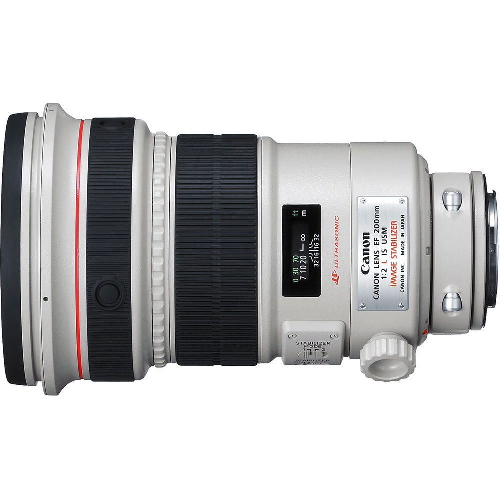 Canon 200mm F/2L IS Review