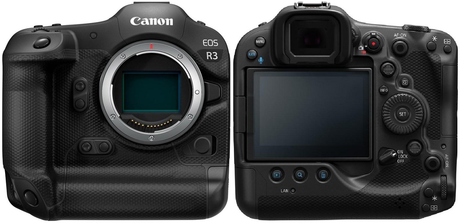 Canon Eos R3 Press Release